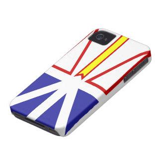 Caso del iPhone 4 de la bandera de Terranova y de iPhone 4 Case-Mate Protectores