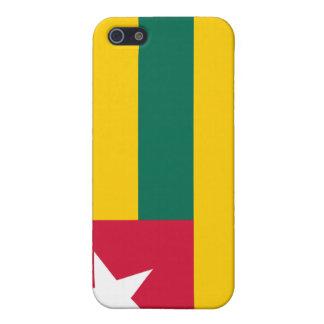 Caso del iPhone 4 de la bandera de Togo iPhone 5 Cobertura