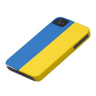 Caso del iphone 4 de la bandera de Ucrania iPhone 4 Carcasa