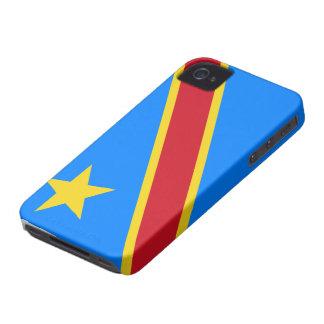 Caso del iphone 4 de la bandera del dr Congo