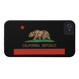 Caso del iPhone 4 de la bandera del estado de la iPhone 4 Cárcasa