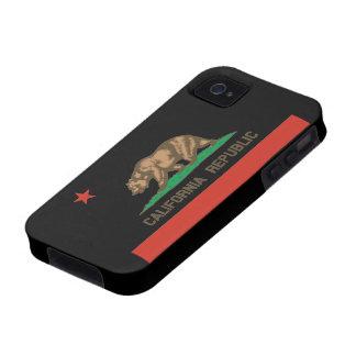 Caso del iPhone 4 de la bandera del estado de la r iPhone 4/4S Funda