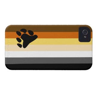 Caso del iPhone 4 de la bandera del oso iPhone 4 Case-Mate Protectores