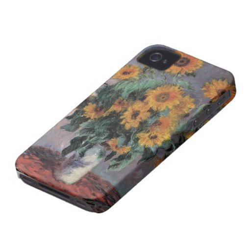 Caso del iPhone 4 de la bella arte de Claude Monet Case-Mate iPhone 4 Protector