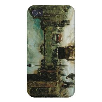 Caso del iPhone 4 de la bella arte de Robert Henri iPhone 4/4S Carcasas