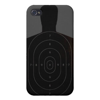 Caso del iPhone 4 de la blanco de la radio de tiro iPhone 4 Funda