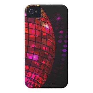 Caso del iPhone 4 de la bola de discoteca iPhone 4 Case-Mate Protector