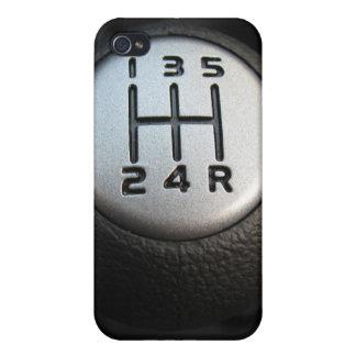 Caso del iphone 4 de la caja de engranajes iPhone 4/4S fundas