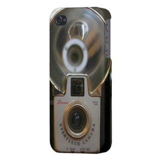 Caso del iPhone 4 de la cámara de Starflash del br iPhone 4 Protectores