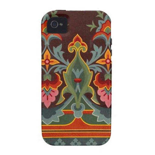 Caso del iPhone 4 de la casamata del diseño del pa iPhone 4 Carcasa