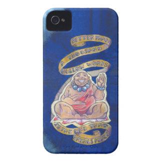 Caso del iPhone 4 de la cita de Buda Carcasa Para iPhone 4