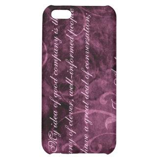 Caso del iPhone 4 de la cita de Jane Austen