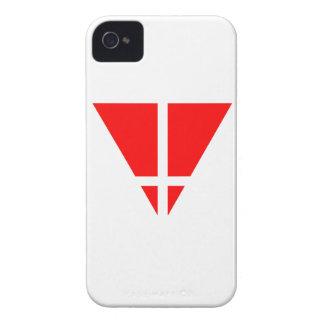 CASO del iPHONE 4 de la CIUDAD de la TRAMPA Case-Mate iPhone 4 Protector