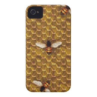 Caso del iPhone 4 de la colmena de la abeja iPhone 4 Protector