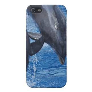 Caso del iPhone 4 de la demostración del delfín iPhone 5 Fundas