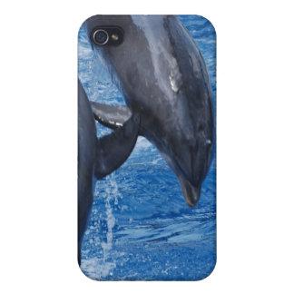 Caso del iPhone 4 de la demostración del delfín iPhone 4/4S Carcasa
