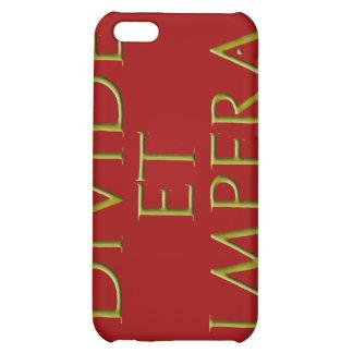 Caso del iPhone 4 de la divisoria y de Impera