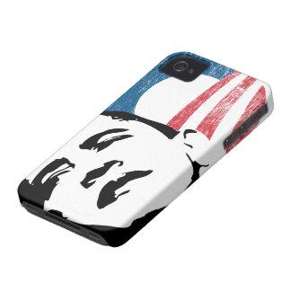 Caso del iPhone 4 de la esperanza de Barack Obama iPhone 4 Case-Mate Cárcasas