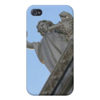 Caso del iPhone 4 de la estatua del cementerio iPhone 4 Cárcasas