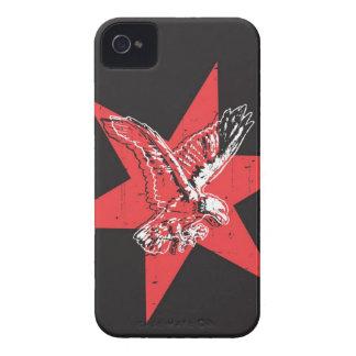 Caso del iphone 4 de la estrella de Eagle iPhone 4 Case-Mate Cobertura