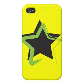 Caso del iPhone 4 de la estrella de la diva iPhone 4 Coberturas