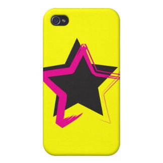 Caso del iPhone 4 de la estrella de la diva iPhone 4 Cárcasa