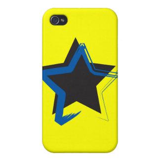 Caso del iPhone 4 de la estrella de la diva iPhone 4/4S Carcasa