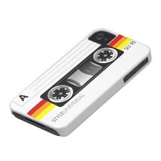 Caso del iPhone 4 de la etiqueta de la cinta de ca iPhone 4 Case-Mate Carcasa