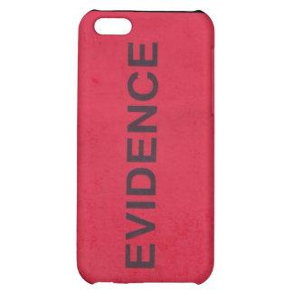Caso del iPhone 4 de la etiqueta de las pruebas