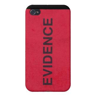 Caso del iPhone 4 de la etiqueta de las pruebas iPhone 4/4S Carcasa