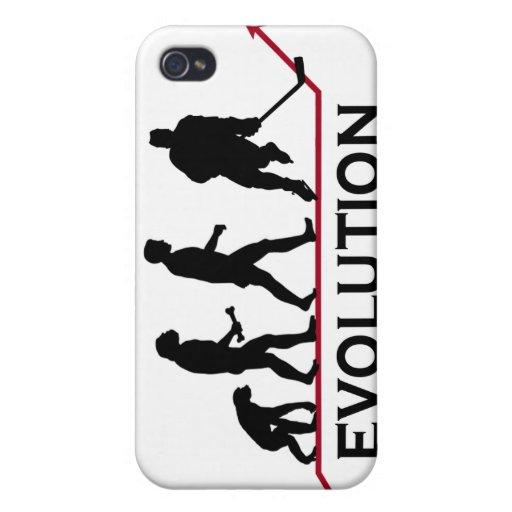Caso del iPhone 4 de la evolución del hockey iPhone 4 Funda