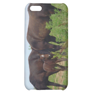 Caso del iPhone 4 de la familia del caballo