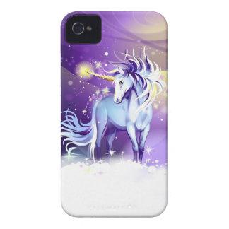 Caso del iPhone 4 de la fantasía del unicornio Funda Para iPhone 4
