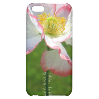 Caso del iPhone 4 de la flor de la amapola