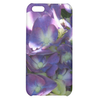 Caso del iPhone 4 de la flor del Hydrangea
