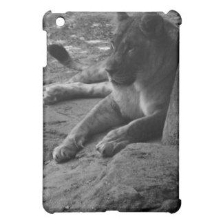 Caso del iPhone 4 de la fotografía de la leona