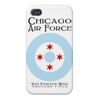 Caso del iPhone 4 de la fuerza aérea de Chicago (a iPhone 4/4S Funda