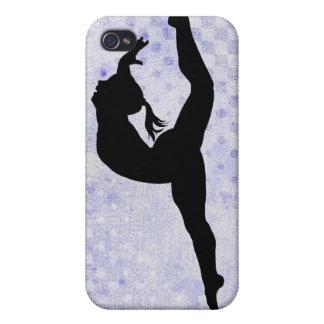 Caso del iPhone 4 de la gimnasia iPhone 4 Protectores