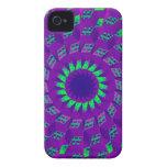 Caso del iPhone 4 de la ilusión óptica Case-Mate iPhone 4 Carcasa