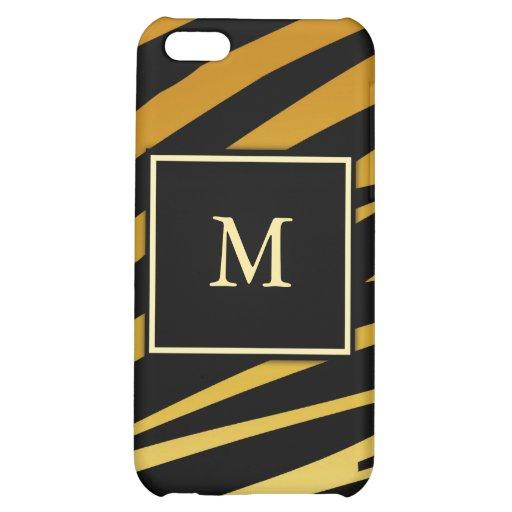 Caso del iPhone 4 de la impresión del tigre del mo