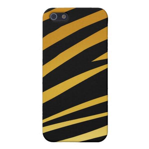 Caso del iPhone 4 de la impresión del tigre iPhone 5 Protector