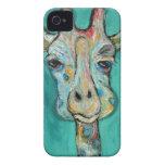Caso del iPhone 4 de la jirafa - Cosby iPhone 4 Case-Mate Carcasa