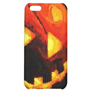 Caso del iPhone 4 de la linterna de Halloween Jack