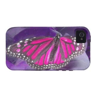 Caso del iPhone 4 de la mariposa de monarca de las iPhone 4/4S Fundas