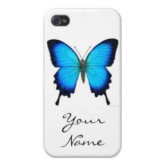 Caso del iPhone 4 de la mariposa de Papilio Ulises iPhone 4/4S Funda