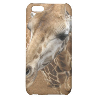 Caso del iPhone 4 de la mirada de la jirafa