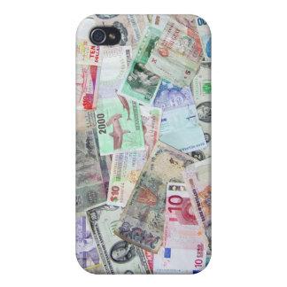 Caso del iPhone 4 de la moneda extranjera iPhone 4 Protector