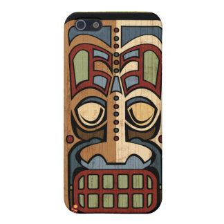 Caso del iPhone 4 de la mota de dios #2 de Tiki iPhone 5 Fundas