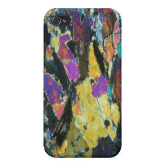 Caso del iPhone 4 de la mota del arte abstracto de iPhone 4 Carcasa