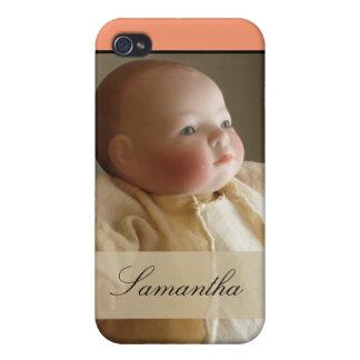 Caso del iPhone 4 de la muñeca de Lo del adiós - iPhone 4/4S Funda